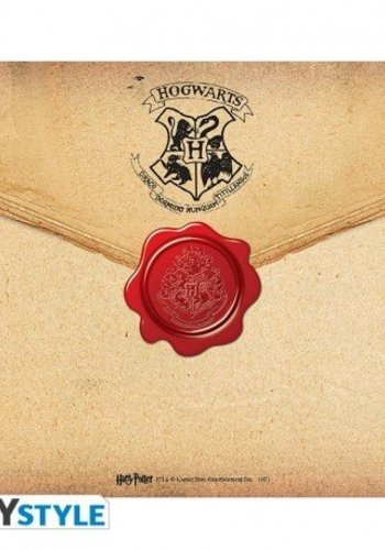 Abysse Corp HARRY POTTER - Mousepad - Hogwarts letter