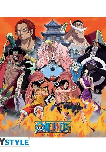 ONE PIECE - Mousepad - Marine Ford