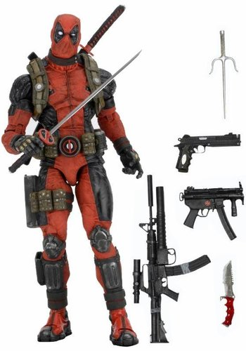 NECA Marvel: Deadpool 1/4 scale Figure
