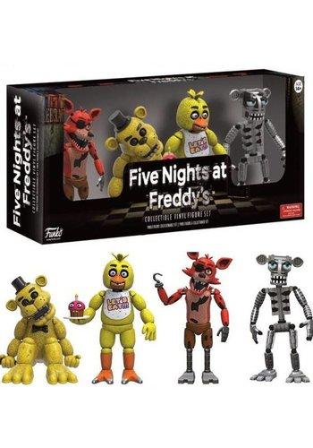 FIVE NIGHTS AT FREDDY'S - Minifigures 4-Pack Set 1 x1