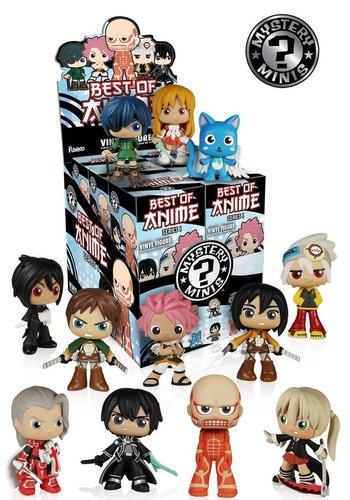 ANIME - Mystery Mini Best Of Anime Serie 1 - 1 price for one blindbox