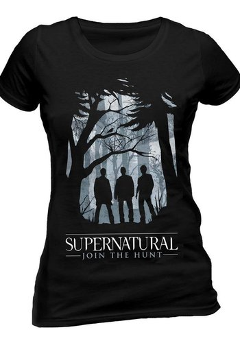 Supernatural: Group Outline T-Shirt