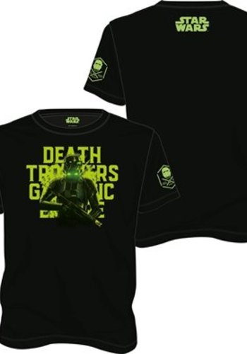 Star Wars Rogue One: Death Trooper Black T-Shirt