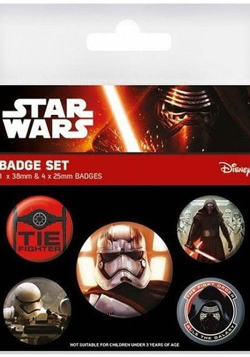 Star Wars First Order Buttons