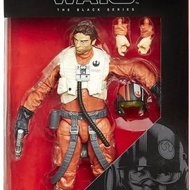 Star Wars: The Force Awakens The Black Series 6-Inch Action Figures Wave 2 Revision 1 Poe Dameron