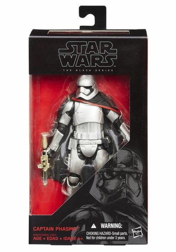 Star Wars: The Force Awakens The Black Series 6-Inch Action Figures Wave 2 Revision 1 Captain Phasma