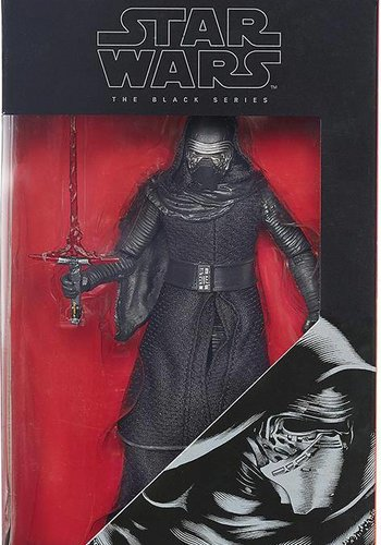 Star Wars: The Force Awakens The Black Series 6-Inch Action Figures Wave 2 Revision 1 Case Kylo Ren