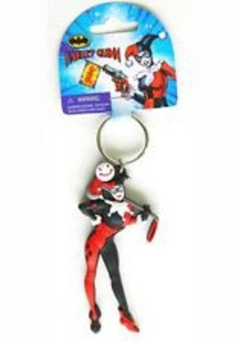 Batman - Harley Quinn Figure Vinyl Keychain - Multicolor