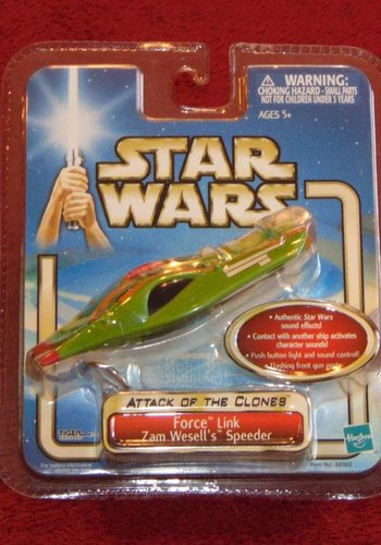 Star Wars: Attack of the clones - force link - Zam Wesell's Speeder