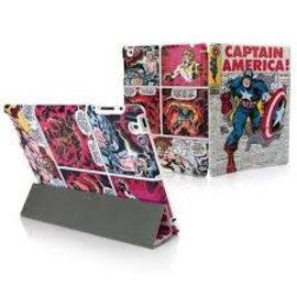 PDP - MOBILE - Marvel Comic Folio Captain America Newsletter IPad 2/3