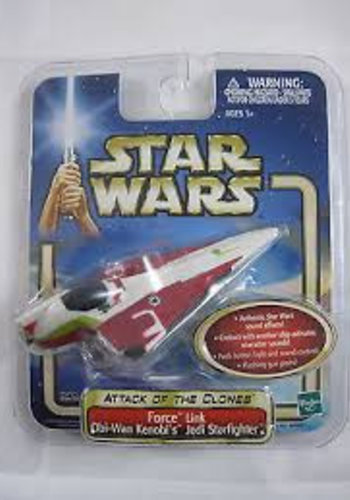 Star Wars: Attack of the clones - force link - Obi-Wan Kenobi's Jedi Starfighter