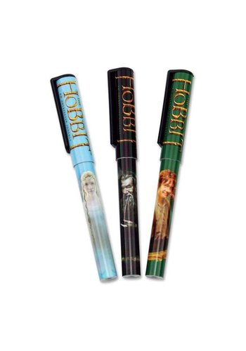 "The Hobbit U J: Pen Set 3 pen set ""Cast"