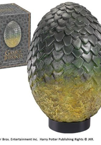 Game of Thrones: Rhaegal Egg Replica
