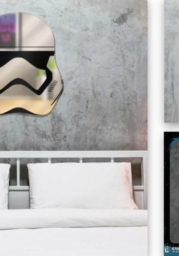 Star Wars: Stormtrooper Mirror