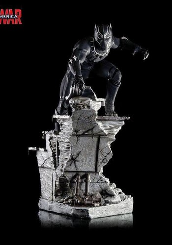 Marvel Captain America: Black Panther Legacy Statue - Sideshow