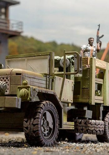 The Walking Dead: Building sets: Woodbury Assault Vehicle