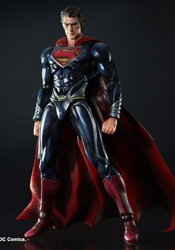MAN OF STEEL PLAY ARTS -KAI- SUPERMAN