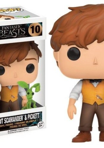 Fantastic Beasts - Newt and Pickett LE Pop! Movies: