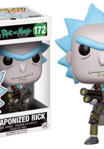 Pop! Cartoons: Rick and Morty - Weaponized Rick