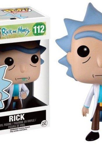 Pop Cartoons: Rick and Morty - Rick
