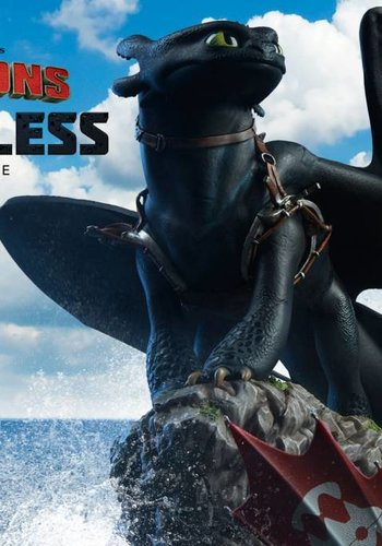 Sideshow How to Train Your Dragon: Toothless Statue