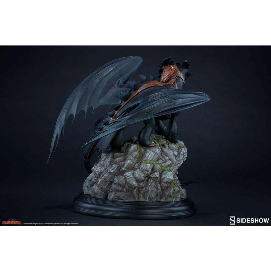 How to Train Your Dragon: Toothless Statue