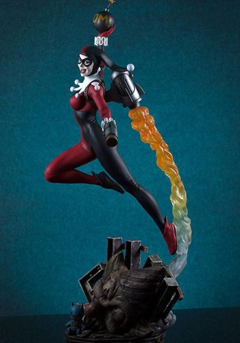 DC Comics: Super Powers Collection - Harley Quinn Maquette