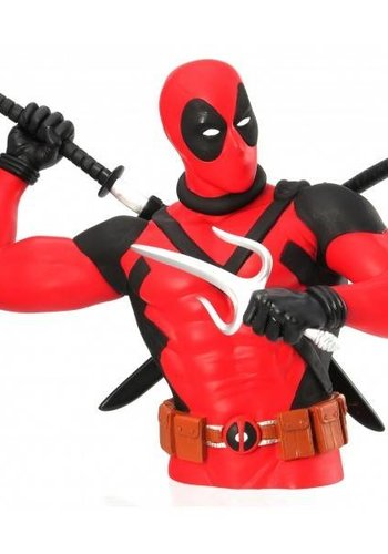 Monogram Marvel: Deadpool Bust Bank