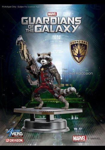 Guardians of the Galaxy: Rocket Raccoon 7 inch Statue