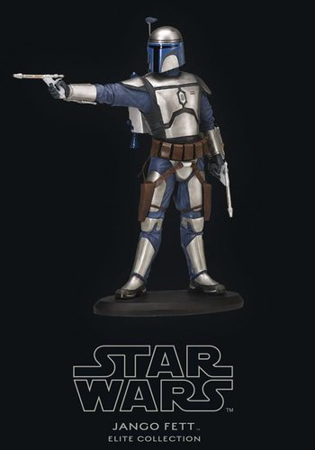 Attakus Star Wars Episode II Attack of the Clones Elite Collection Statue Jango Fett 19 cm