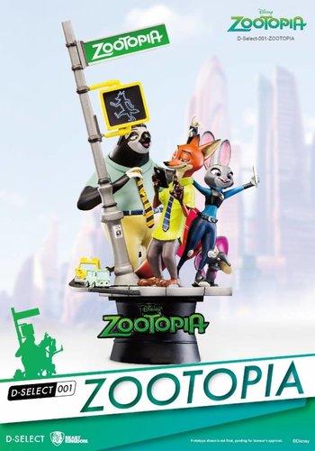Disney Select: Zootopia Diorama