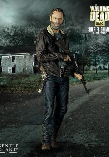 Gentle Giant The Walking Dead: Season 5 Rick 1:4 Scale Statue - Gentle Giant