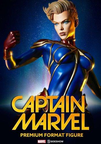 Captain Marvel Premium Format Statue
