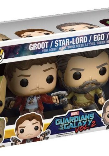 Guardians of the Galaxy - Funko Pop! 4 Pack Set 1