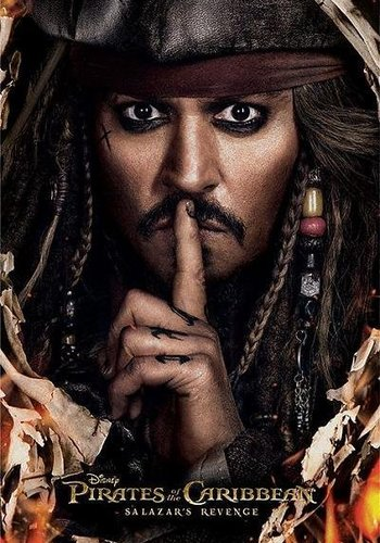 Pirates of the Caribbean Can You Keep A Secret - Maxi Poster