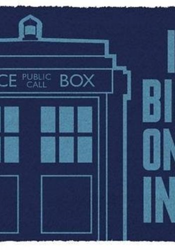 Doctor Who Tardis - Deurmat