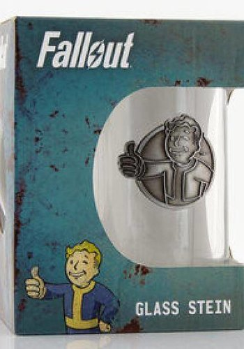 Fallout Vault Boy - Stein Glass