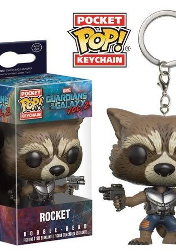 Pocket Pop Keychains: Guardians of The Galaxy 2 - Rocket