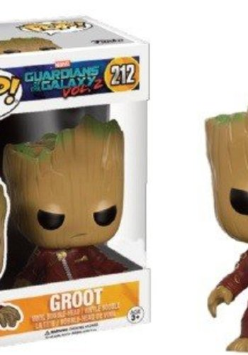 Pop! Marvel: GotG 2 - Young Groot in Suit - Angry LE