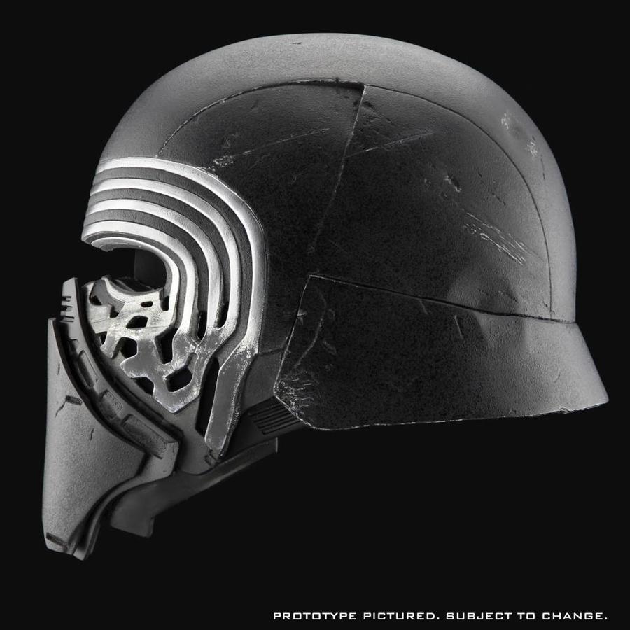 Star Wars The Force Awakens: Kylo Ren Helmet 1:1 Replica