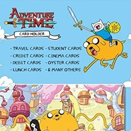 Hole In The Wall Adventure time card holder