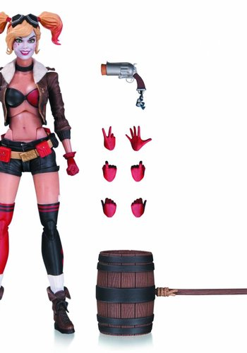 DC Comics: Ant Lucia Bombshell - Harley Quinn Action Figure