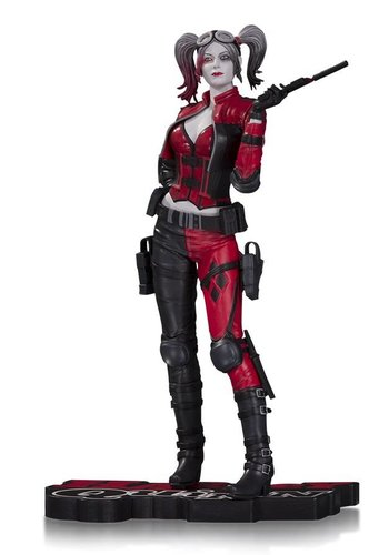 DC Comics Injustice 2: Harley Quinn Red & White & Black 1:10 Statue