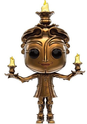 Pop! Disney: Beauty and the Beast Live Action - Lumière