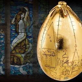 Harry Potter Prop Replica 1/1 Golden Egg 23 cm