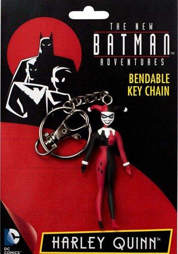 DC Comics: The New Animated Batman - Harley Quinn Bendable Keychain
