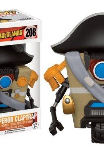 Pop! Games: Borderlands - Emperor Claptrap