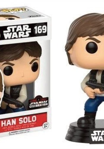 Pop! Star Wars: Celebration 2017 - Han Solo Action Pose LE