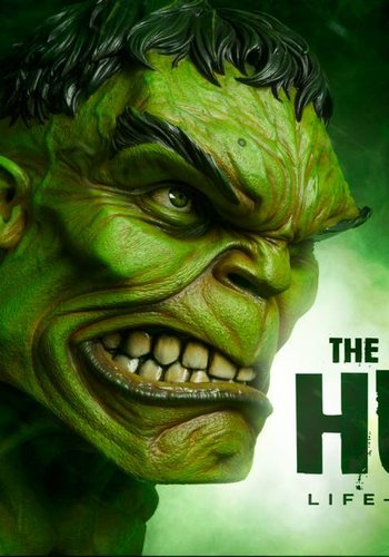 Sideshow THE INCREDIBLE HULK LIFE-SIZE BUST