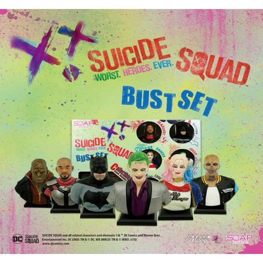 DC Comics: Suicide Squad - Bust Set